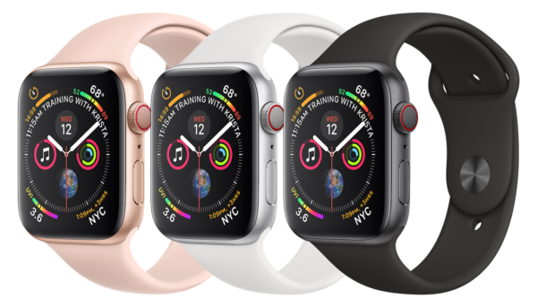 Apple Watch Series 4 Silver Grey Gold 40mm/44mm Sport Band 1