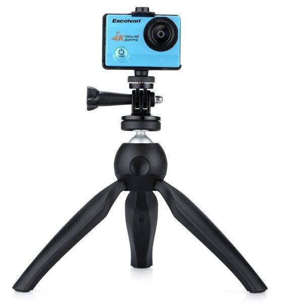 K3 Mini Tripod for Smartphone&Phone Holder Stand Mount for iPhone X 7 Canon Nikon Gopro Portable Selfie Camera Monopod Accessory Projector Tripod 1