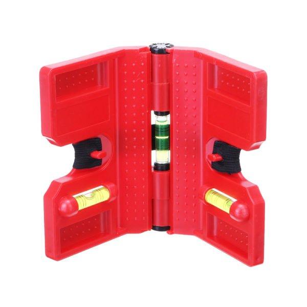 Drillpro Woodworking Folding Meter Adjustable Level Ruler Practical Angle Gauge Ruler Measuring Tools 1