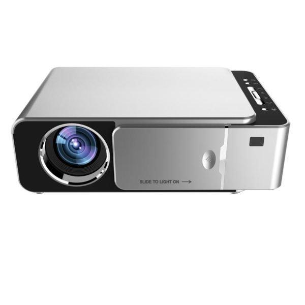 TOPRECIS T6 LCD Projector 1280x720P HD 3500 Lumens Mini LED 3D Projector Home Theater Beamer bluetooth WIFI USB HDMI VGA 1+16G Android Version 1