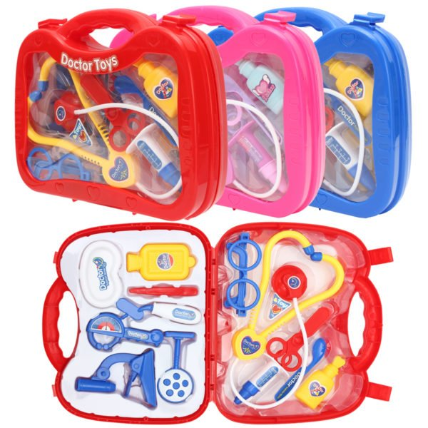 Kids Childrens Role Play Doctor Nurses Toy Medical Set Kit Gift Toys 1