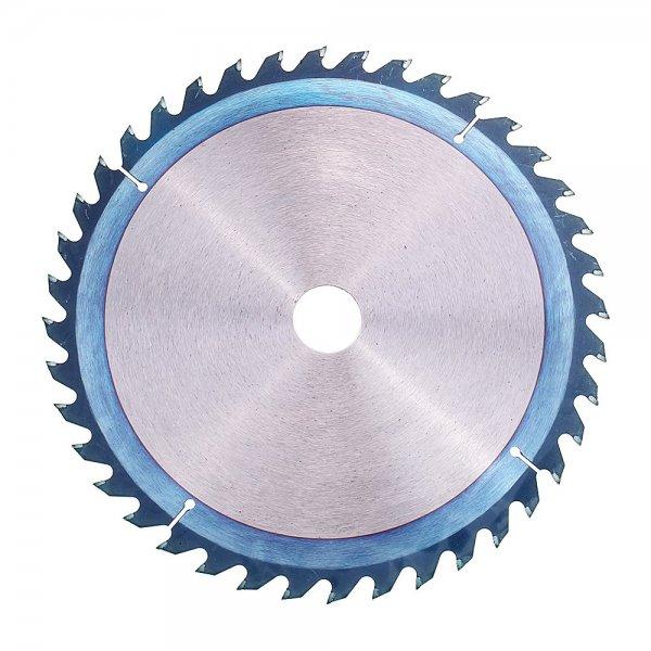 Drillpro 250mm HSS Blue Nano Coating Saw Blade 40 Teeth Wood Grinder Wheel Disc for Woodworking 1