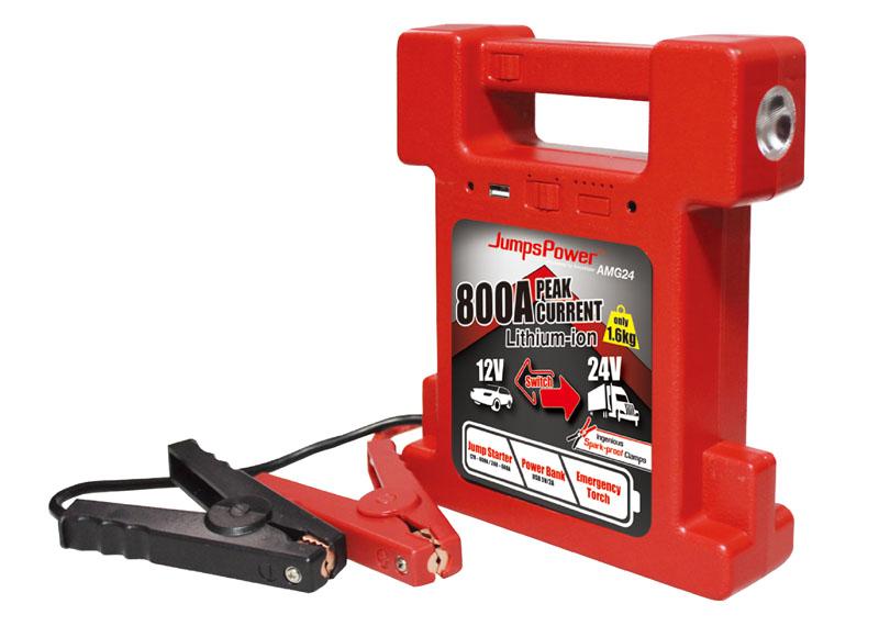 JumpsPower AMG24 12/24 Car Battery Jump Starter
