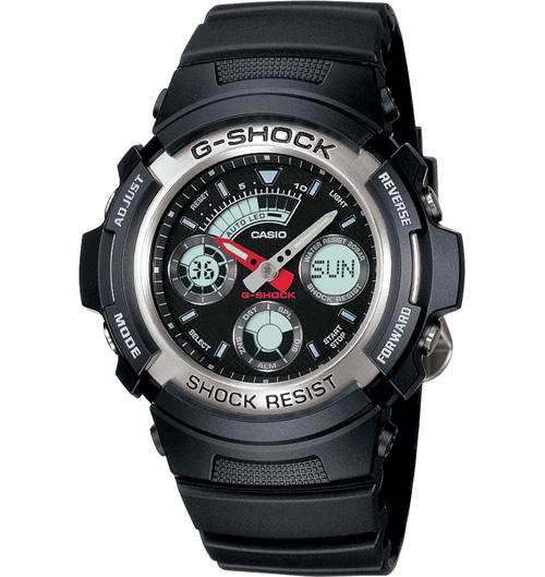 Casio G-Shock Mens Watch AW-590-1ADR