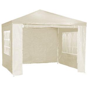 3x3m Wallaroo Outdoor Party Wedding Event Gazebo Tent - Beige