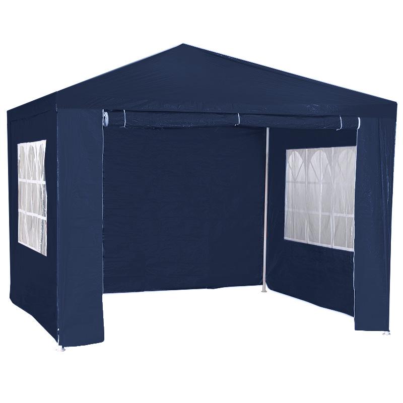 3m x 3m Wallaroo Outdoor Party Wedding Event Gazebo Tent - Blue
