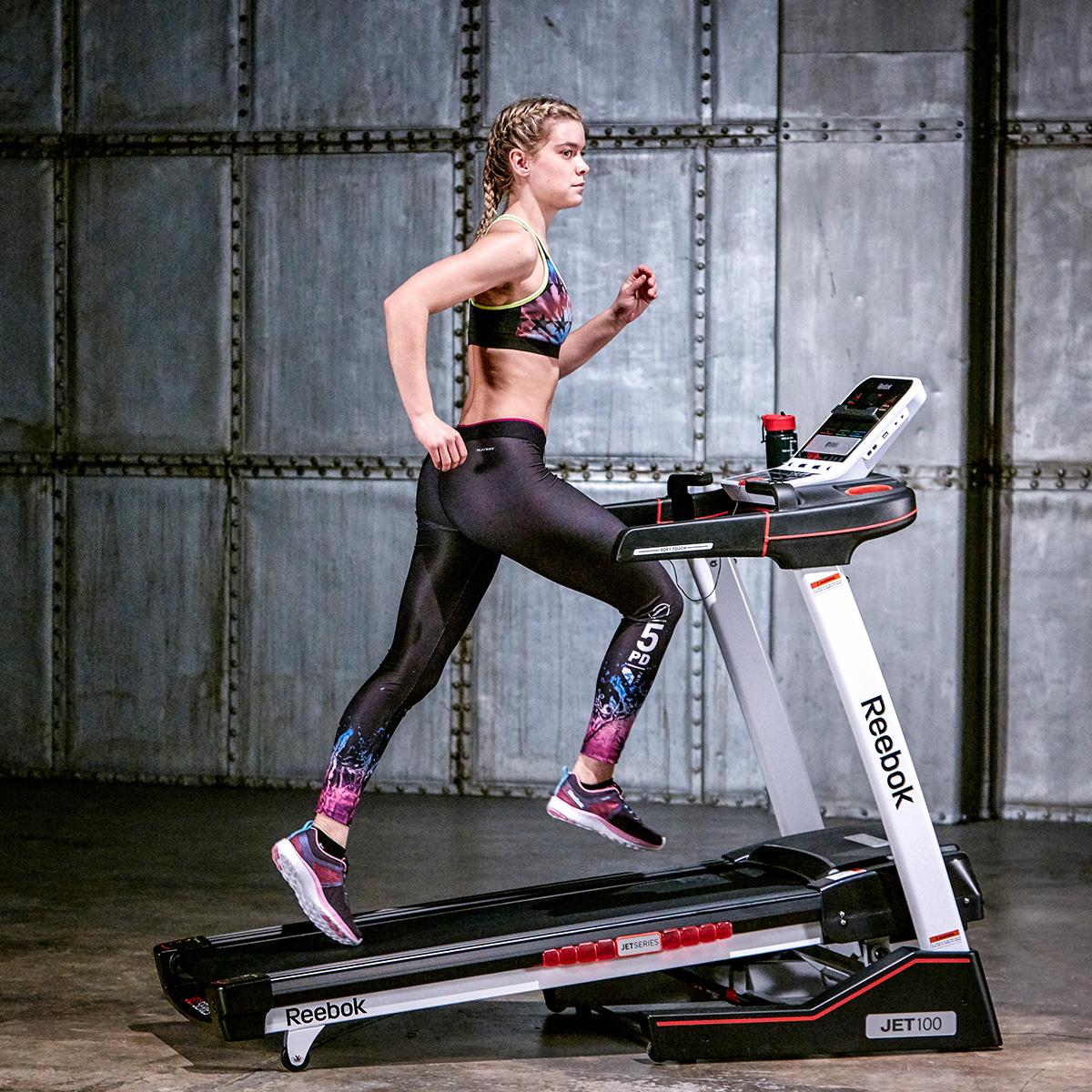 Reebok Jet 100 Series Treadmill Home Gym Equipment Machine