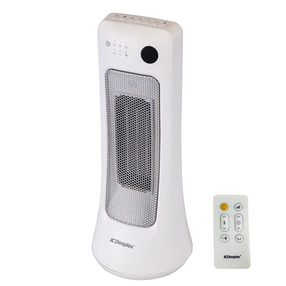 Dimplex 2000W Ceramic Tower Portable Electric Heater - DHCER20SW