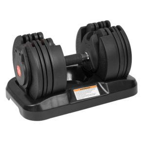 20kg Powertrain Adjustable Home Gym Dumbbell