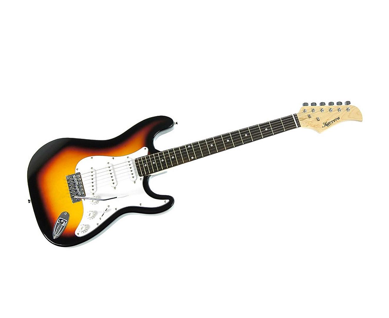 Karrera 39in Electric Guitar - Sunburst