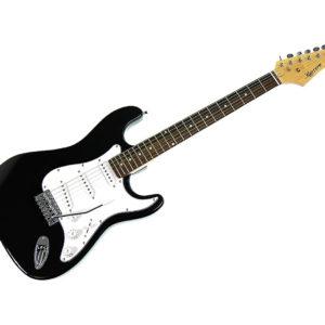 Karrera 39in Electric Guitar - Black