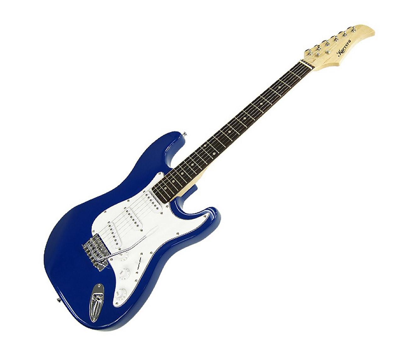 Karrera 39in Electric Guitar - Blue