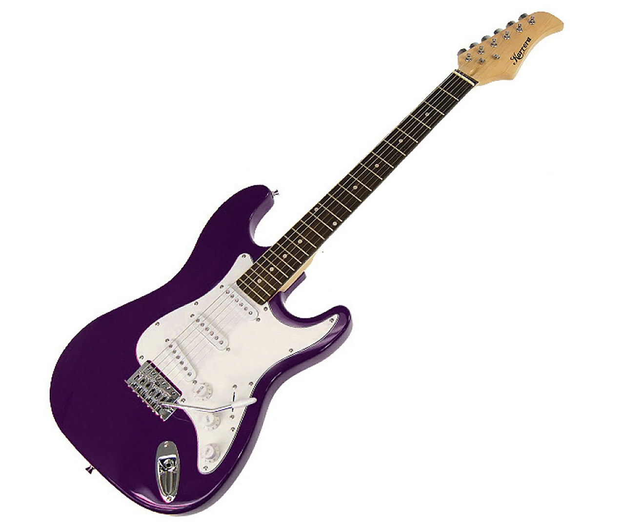 Karrera 39in Electric Guitar - Purple