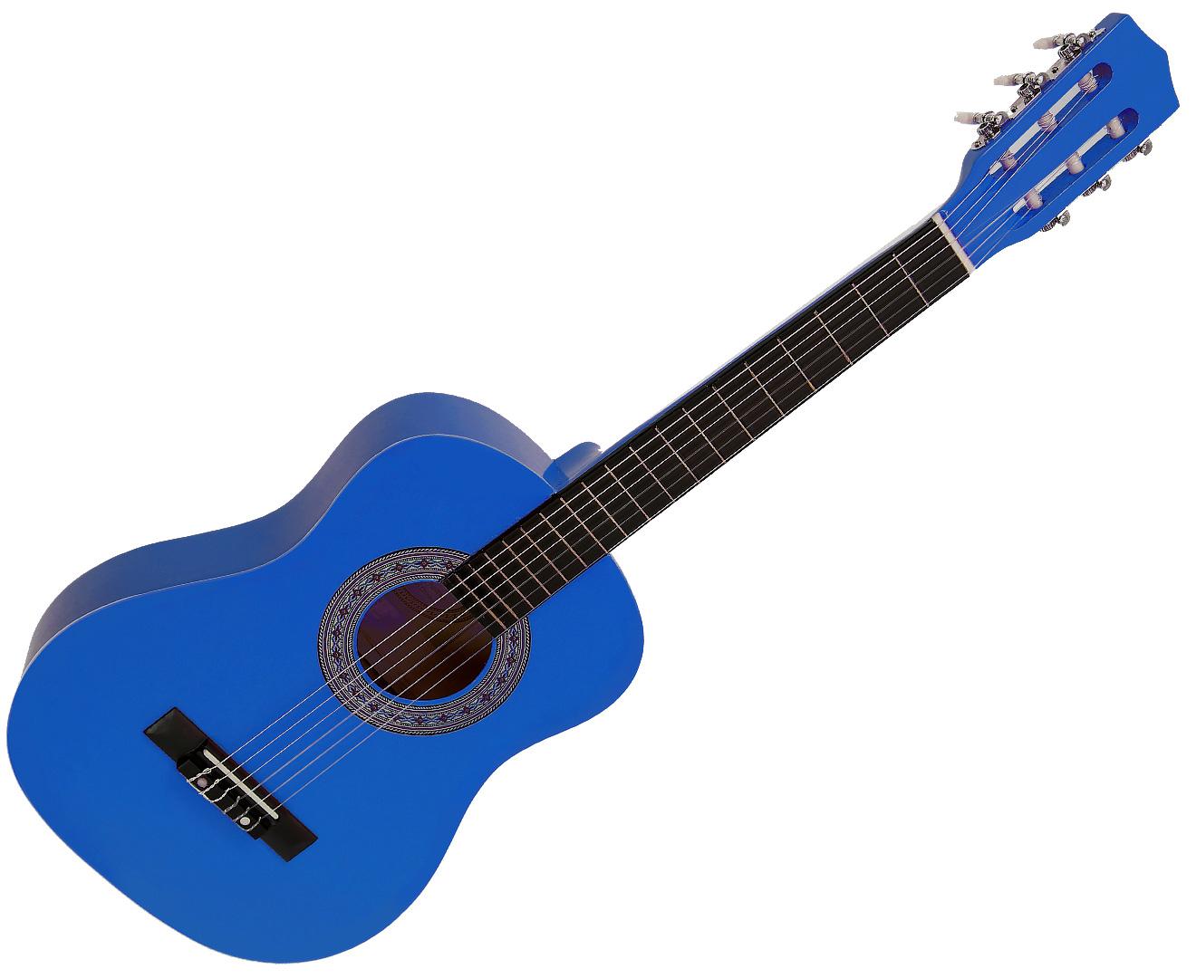 Karrera 34in Acoustic Children no cut Guitar - Blue