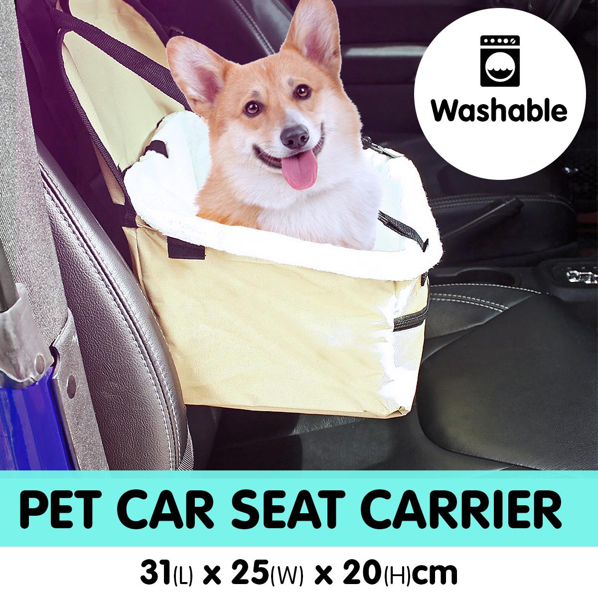 Pet Travel Carrier Bag - Beige