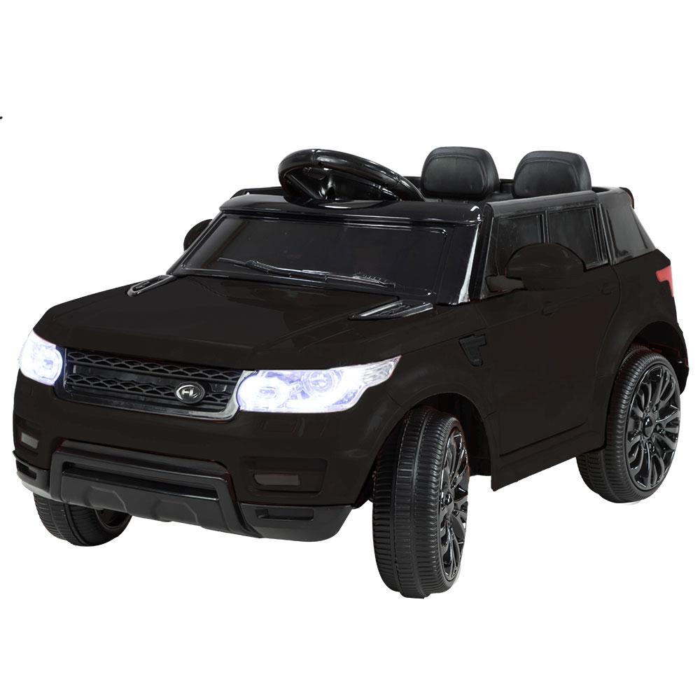 Range Rover Inspired 12v Ride-On Kids Car Remote Control - Black
