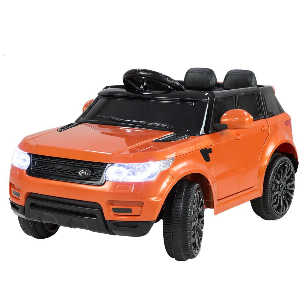 Range Rover Inspired 12v Ride-On Kids Car Remote Control - Orange