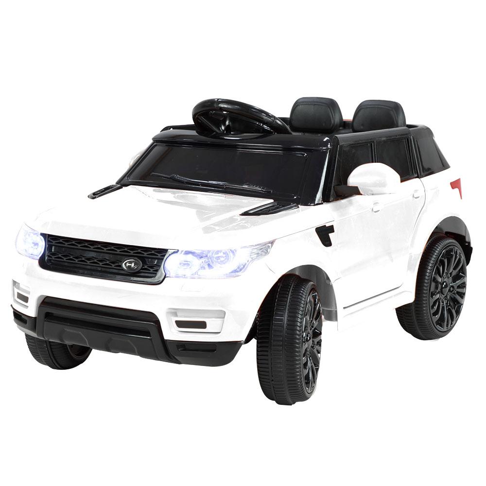 Range Rover Inspired 12v Ride-On Kids Car Remote Control - White