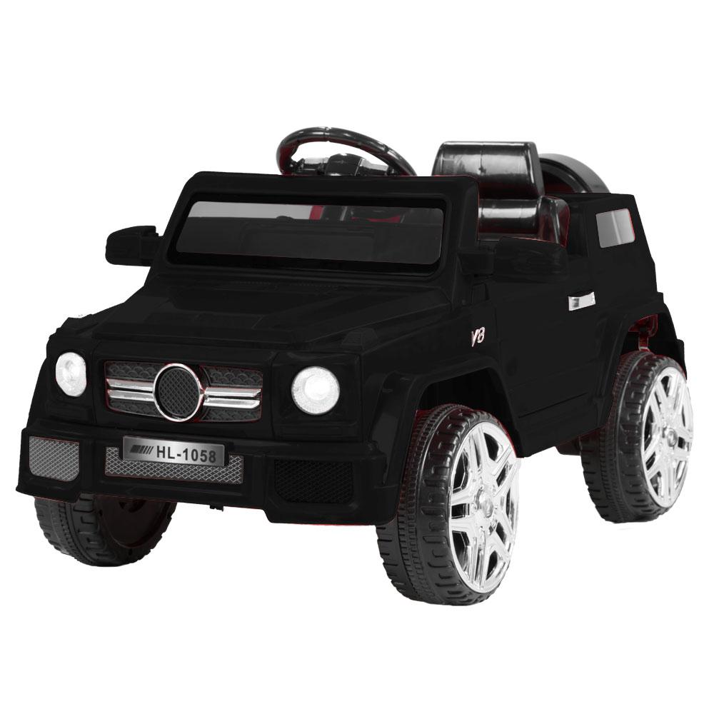 Mercedes Benz Inspired 12v Ride-On Kids Car Remote Control - Black