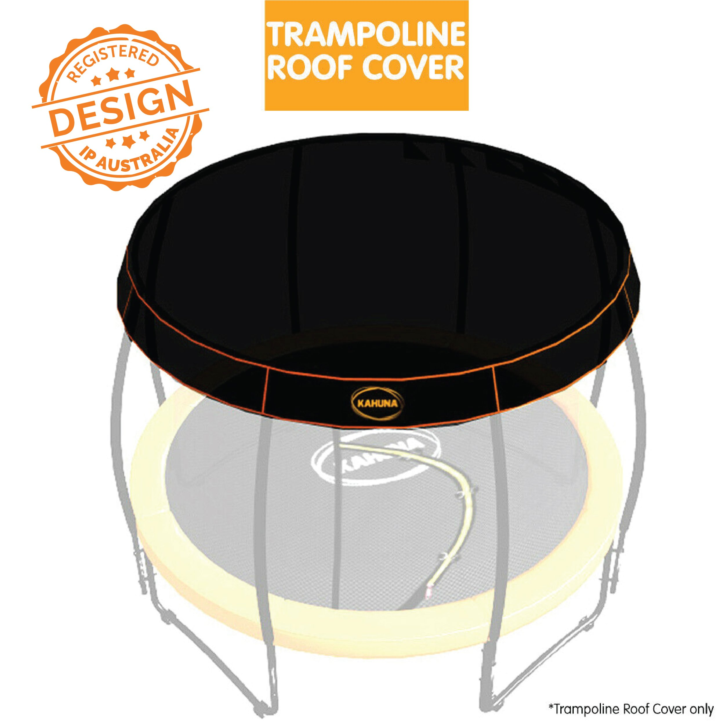 10ft Kahuna Trampoline Roof Shade Cover