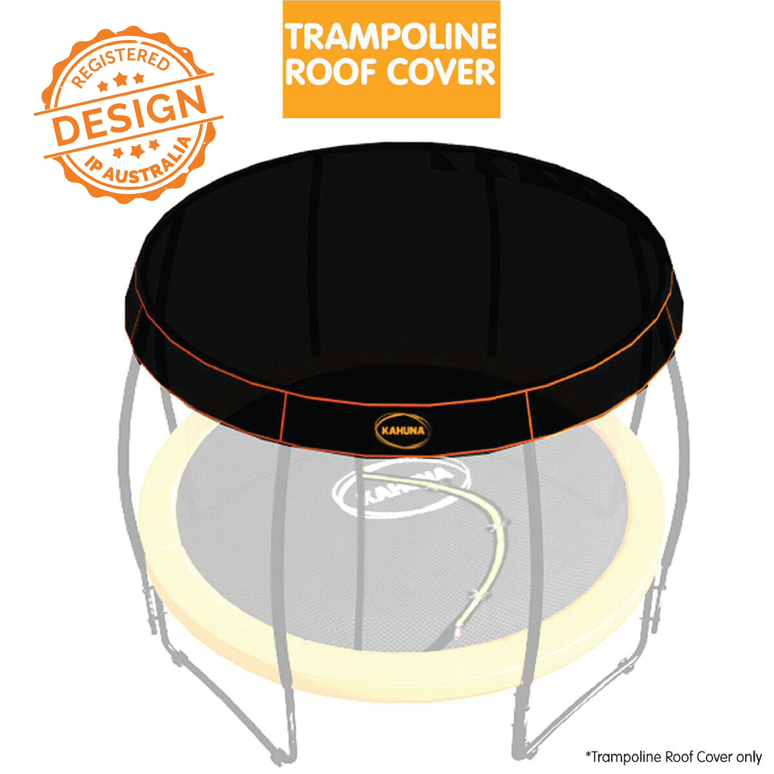 6ft Kahuna Trampoline Roof Shade Cover