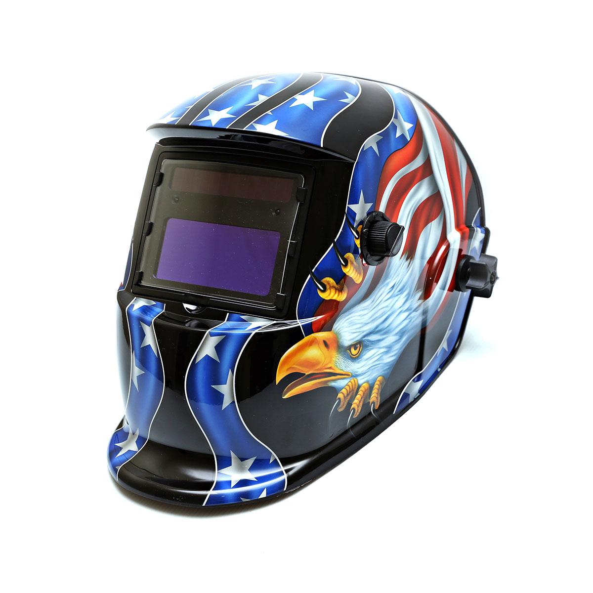 Centurion Solar Auto Darkening Welding Helmet - USA Eagle