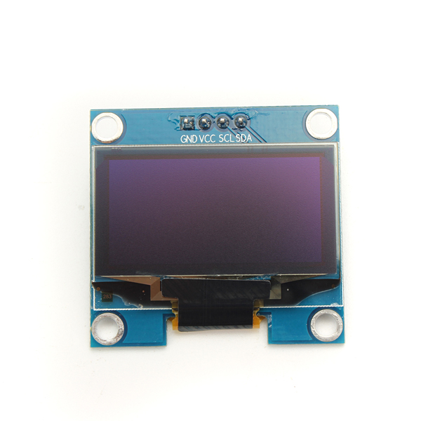 1.3 Inch 4Pin White OLED LCD Display 12864 IIC I2C Interface Module Geekcreit for Arduino - products that work with official Arduino boards 1