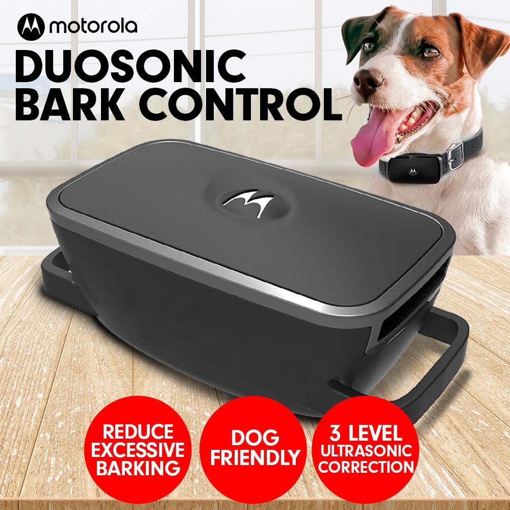 Motorola Duosonic Bark Control Collar 200U- Black