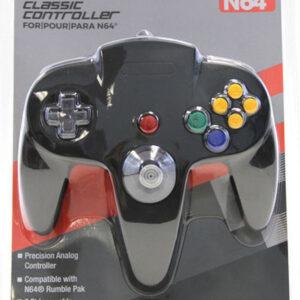 N64 Controller Replica Black