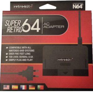 N64 Super Retro AC Adaptor with AU Plug