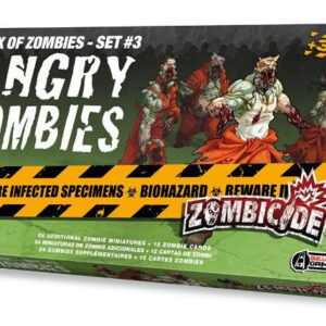 Zombicide Angry Zombies Box of Zombies Set 3