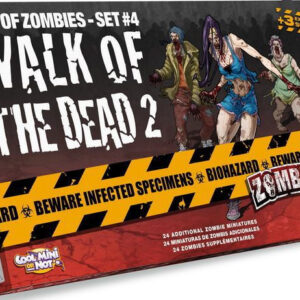 Zombicide: Walk of the Dead 2 - Box of Zombies set 4