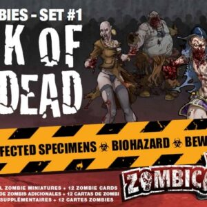 Zombicide: Walk of the Dead Box of Zombies Set 1