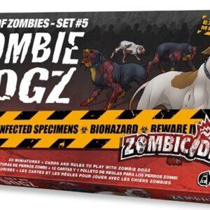 Zombicide Zombie Dogz - Box of Zombies Set 5
