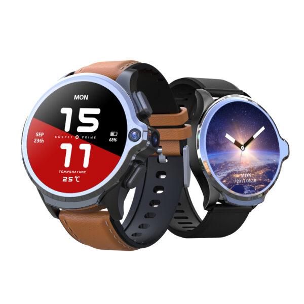 [Face Unlock]Kospet Prime 3G+32G 4G-LTE Watch Phone Dual Cameras 1260 mAh Battery Capacity GPS Smart Watch