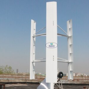 2KW Vertical Wind Turbine 250 RPM wind generator 24v 48v 96v 3 phase 50HZ 3 blades no noise home use wind turbine for home use