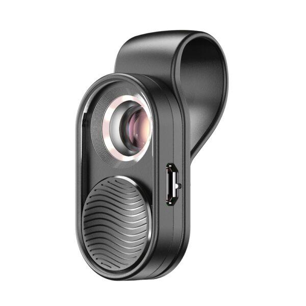 APEXEL100X microscope lens camera phone lens high magnification LED