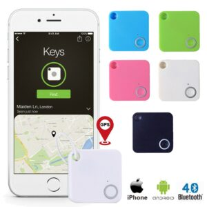 Smart Remote Control Anti Lost Keychain Alarm Bluetooth Tracker Key Finder Tags Gps Bluetooth Tracker Key Finder Locator
