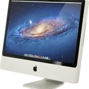 "[C] Apple iMac 24"" A1225 AIO Desktop PC C2D 4GBRAM 640GBHDD EARLY2009 OS 10.10.5"