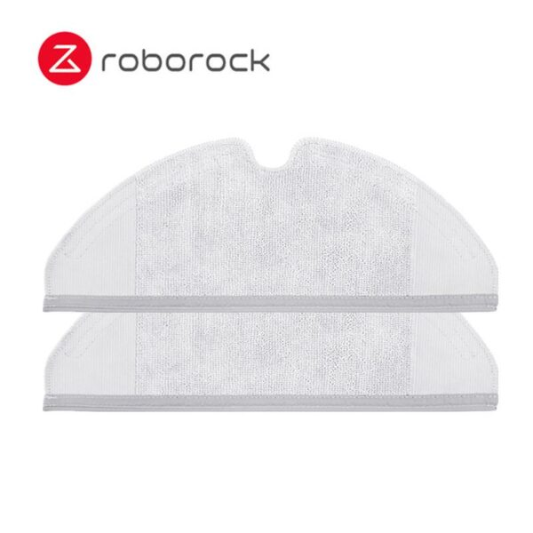 2pcs Mopping Cloth and 14pcs Water Tank Filter for Xiaomi Roborock S50 S51 Robot Vacuum Cleaner Spare Parts Kits Mopping Cloth Dry Wet Mopping 14pcs Water Tank Filter