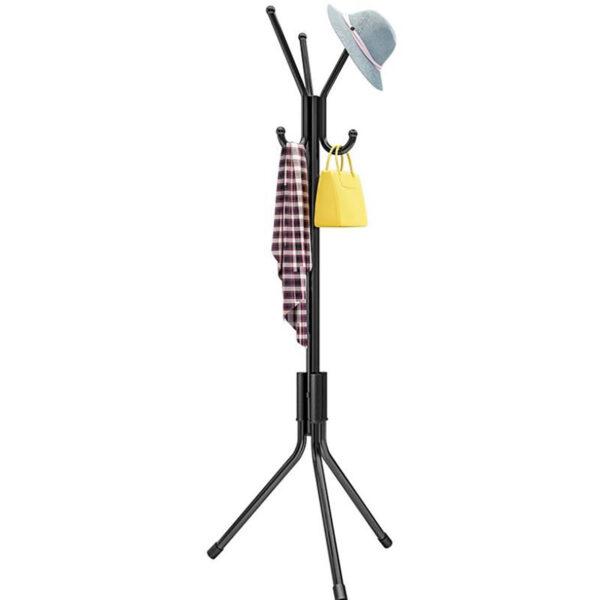 Coat Hat Clothing Garment Floor Stand Rack Metal Tree Hanger Holder Organizer