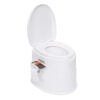 Portable Toilet Bowl Extra Strong Durable Support Adult Senior