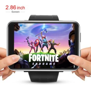 4G Smart Watch Men Android 7.1 2.8 Inch 640*480 Screen 3GB + 32GB