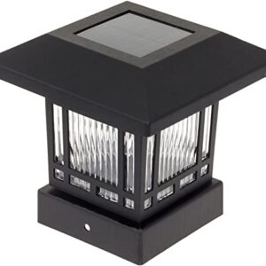 Lantern Pattern Aluminum Solar Light For Garden Outdoor Garden Decoration Led Solar Wall Light