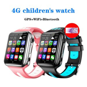 4g Children's Smart Watch Gps Positioning Mobile Phone Android 9.0 Wifi Internet App