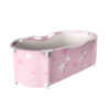 Portable Bathtub Water Tub Folding PVC Adult Spa Bath Bucket Rectangle Home