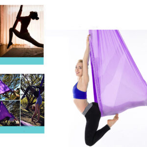 100cm x 280cm Kids Therapy Swing Cuddle Hanging Hammock with Autism ADHD Aspergers Sensory