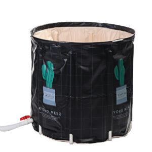 73x12.5x26cm Cactus Foldable Bathtub Portable Bathtub Outdoor Bathroom Adult Large Spa Bathtub