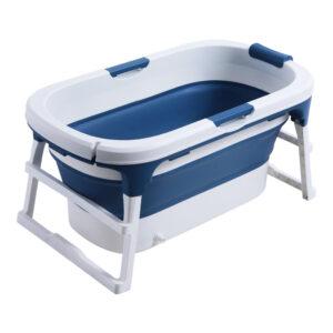 111*63*55cm Large Deep Folding Bath tub Adults Bath Tub Children Bath Tub With Lid