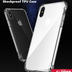 Clear Shockproof Bumper Back Case Cover For iPhone 12 11 Pro XS MAX X XR 7 Plus